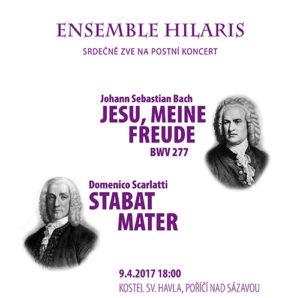 Ensemble Hilaris – Bach & Scarlatti @ Kostel sv. Havla, Poříčí nad Sázavou   Poříčí nad Sázavou   Česko