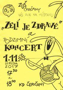 Podzimní výstava a koncert @ sál KD Čerčany | Čerčany | Středočeský kraj | Česko