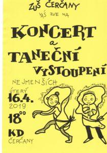 Koncert a vystoupení nejmenších žáků @ sál KD Čerčany | Čerčany | Středočeský kraj | Česko