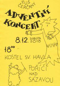 Adventní koncert @ kostel sv. Havla | Poříčí nad Sázavou | Středočeský kraj | Česko