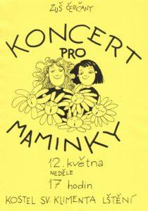 Koncert pro maminky @ kostel sv. Klementa Lštění | Lštění | Středočeský kraj | Česko