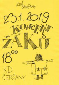 Koncert žáků @ sál KD Čerčany | Čerčany | Středočeský kraj | Česko