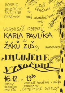 Vernisáž výstavy @ Hospic Dobrého Pastýře Čerčany