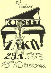 Koncert žáků @ sál KD Čerčany